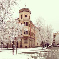Torino sotto la neve - Foto di © Tipografia Di Francia  - #Torino    Seguici su: http://www.facebook.com/pages/Tipografia-Di-Francia/87172903167    https://twitter.com/TipogrDiFrancia