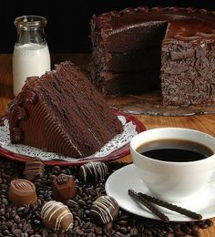 That chocolate cake ♥