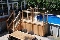 petit deck de piscine hors terre - Recherche Google