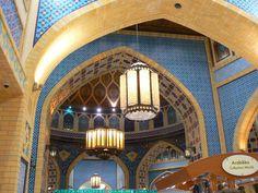 Mall ceiling in Dubai