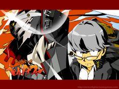 Persona 4 x Gurren Lagann, Narukami Yu and Izanagi