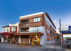 Small Residential Building: Ormond Road Apartments by Jost ArchitectsOrmond Rd Apartments is a simple, clean and visual building that respects its community, surroundings and local history without compromising its desig... Apartments