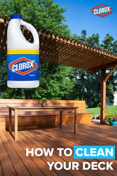 The Best Inexpensive Non Toxic Homemade Deck Cleaner