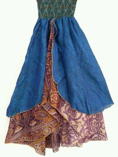 upcycled layered skirt - Google Search