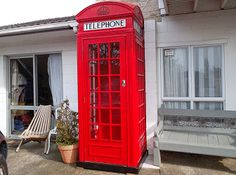 This is amazing! DIY K2 red telephone booth