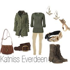 Katniss from Hunger Games. I want that jacket!