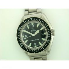 Omega Gents Seamaster 300 steel automatic on bracelet