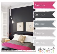 Pink & Gray color inspiration