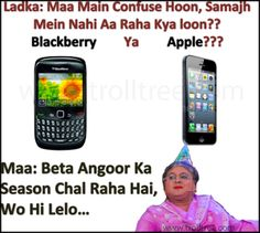 BlackBerry Ya #Apple ??? - TrollTree Share #Mobile Phone`s Jokes - http://www.trolltree.com/