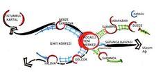 Picture Map Diagram, Eco City, Urban Planning, Urban Design, Landscape Design, Sketches, Concept, How To Plan, Arches
