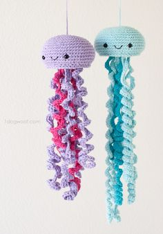 Jellyfish Crochet Free Pattern