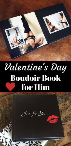 Sexy Valentine's Day Boudoir Box for Him | Gift for Boyfriend | Gift for Husband | Gift for Groom | Boudoir Album | ad| #boudoir #giftideas #valentine #holiday #groom #wedding #photograph #photography
