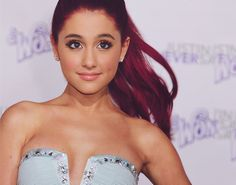 Luv u ariana! Yours Truly, Ariana Grande Red Hair, Red Hair Tumblr, Victorious Cast, Eyes Lips Face, Fashion Idol, Celebs, Celebrities, Woman Crush