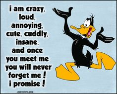 Daffy duck quote