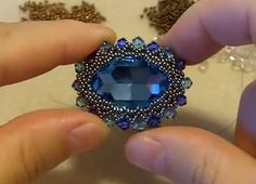 How to Make Different Shaped Beaded Bezels Tutorials - The Beading Gem's Journal