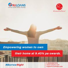 Being a woman has a number of benefits. Getting special home loan rates without any ‪#‎LoanKaDard‬ is just one of them. Know more http://buff.ly/29PxF9U