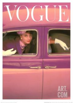 Norman Parkinson Vogue Cover, Autumn Fuchsia painting is shipped worldwide,including stretched canvas and framed art.This Norman Parkinson Vogue Cover, Autumn Fuchsia painting is available at custom size. Vogue Vintage, Capas Vintage Da Vogue, Vintage Vogue Covers, Vintage Fashion, Vintage Clothing, Golf Clothing, 1950s Fashion, Look Retro, Look Vintage