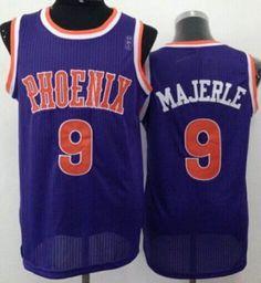 nba phoenix suns 9 dan majerle purple hardwood classics revolution ... fd698c412