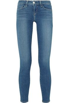 L'Agence - The Chantal Low-rise Skinny Jeans - Mid denim - 30