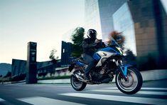 Scarica sfondi Honda NC750X, 4k, 2018 moto, pilota, nuova NC750X, Honda