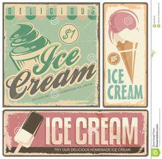 Antique Ice Cream Parlor Signs | Ice cream