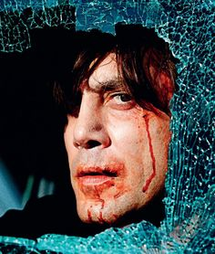 javier bardem in no country for old men (coen bros, 2007)