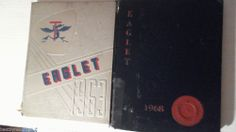 The Eaglet: 1963 And 1968 Tougaloo College Yearbook Jackson Mississippi Lot-2