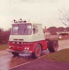 HMC (actually a renamed ERF) Vintage Trucks, Old Trucks, Old Lorries, Commercial Vehicle, Classic Trucks, Cars And Motorcycles, Jeeps, Buses, Britain