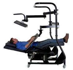 Zero Gravity Chair Workstation 4 Product Code: ZGW-4 Price: $5995