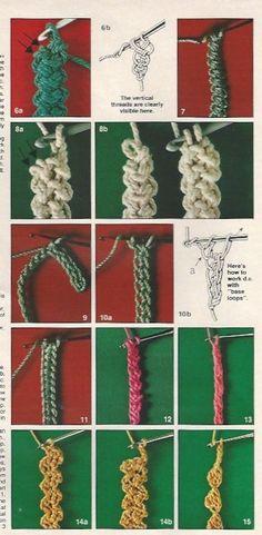 Cordões de Crochê