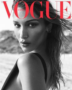 Bella Hadid posts snaps from sultry Vogue Spain shoot - Famous Magazin Bella Hadid, Vogue Magazine Covers, Vogue Covers, Magazine Cover Design, Vogue Photography, Editorial Photography, Lifestyle Photography, Vintage Vogue, Arte One Direction