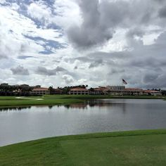 This doesn't suck. #TrumpDoral Number 9. I parred it. by drbartonb #TrumpDoral