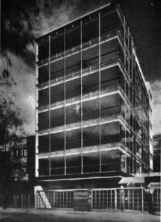 coutinoponce:  Edificio Alpes 1967 Col. Lomas de Chapultepec. México D.F. Arq. Manuel González Rul