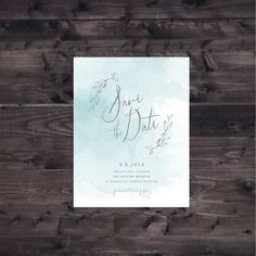 FLAT SAMPLE Wedding Save the Date by luckypennypaperie on Etsy Asheville North Carolina, Wedding Reception Invitations, Letterpress Printing, Wedding Save The Dates, Getting Married, Vines, Dating, Handmade Gifts, Stationary