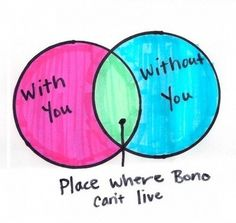 Place where Bono can't live.