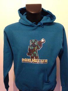 Sapphire blue hoodie Blue Hoodie, Blue Sapphire, Minecraft, Hoodies, Sweaters, Fashion, Moda, Sweater, Hoodie