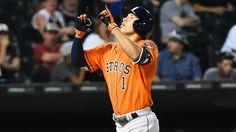 SB Nation (6/10/2015): Astros' Carlos Correa Launches First Major League Home Run.