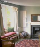 The sitting room or drawing room at 8 College Street in Winchester, Jane Austen's final home. She died in this room. From the Austen Only Archives