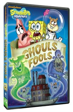 Reviewed By Mom: SpongeBob SquarePants: Ghouls Fools....Out Now! Review & Give Away!
