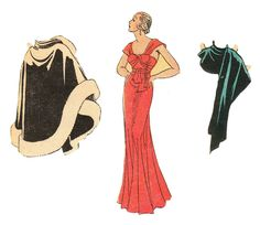 The Paper Collector: Sister's Paper Doll, c. 1930s