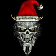 ... Bad Santa, Brooch, Skulls, Funny, Fictional Characters, Jewelry, Art, Death, Art Background