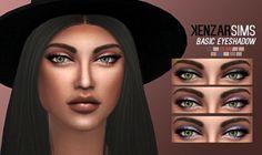 Kenzar Sims: Basic eyeshadow • Sims 4 Downloads