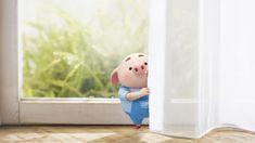 Pig Wallpaper, Cartoon Wallpaper, This Little Piggy, Little Pigs, Pig Images, Cute Piglets, 3d Art, Pig Drawing, Pig Illustration