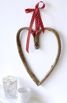 Wooden Heart..So simple,and so pretty!