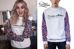 c7090119d5 Perrie Edwards | Steal Her Style Perrie Edwards Style, Floral Sleeve, Out  Of Style