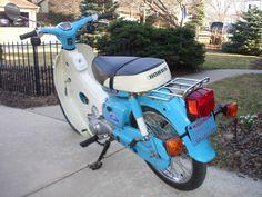 1980 Honda Passport, C70 Vintage Honda Motorcycles, Cars And Motorcycles, Honda Passport, Honda Cub, Camera Photography, Motorbikes, Cubs, Classic, Garage