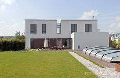House Černošice | CZE Studios, Garage Doors, Houses, Outdoor Decor, Home Decor, Homes, Decoration Home, Room Decor, Interior Design