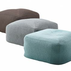 Divine footstools by Cane-line.