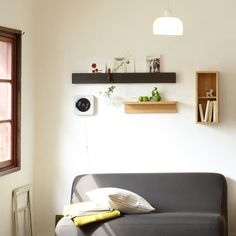 Meet Muji: 20 Home Products from Our Fave Design Shop Home Staging, Maison Muji, Dark Brown Walls, Muji Home, Style Chinois, Wall Boxes, Japanese Interior, Piece A Vivre, Houses