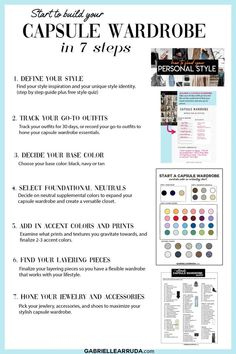 Apr 23, 2021 - So, you want to start a capsule wardrobe and leave the outfit fatigue and closet struggles behind? Well fantastic! I'm here to guide you through the first Capsule Wardrobe Essentials, Capsule Wardrobe Women, Fashion Capsule, Wardrobe Color Guide, Wardrobe Basics, Minimalist Wardrobe, Minimalist Fashion, Personal Style, Step Guide